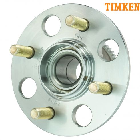 01-05 Honda Civic, 03-05 Civic Hybrid w/Drum Brakes w/ABS Rear Wheel Hub & Bearing LR = RR (TIMKEN)