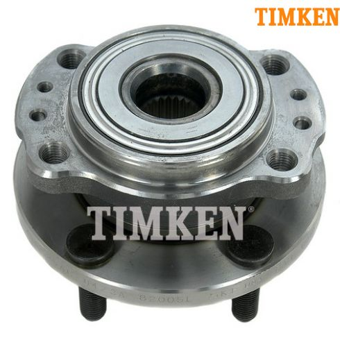 97-04 Chrysler Mini Van AWD Rear Wheel Bearing & Hub LR = RR (Timken)