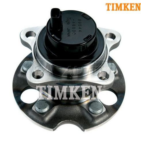04-07 Highlander; 04-06 RX330; 07-09 RX350; 06-09 RX400H w/2WD Rear Wheel Bearing & Hub RR (Timken)