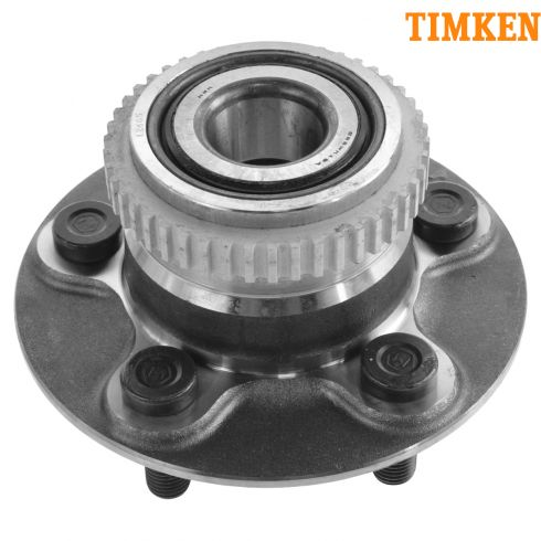 01-02 Chrysler PT Cruiser (w/RearBrakes) Disc Rear Wheel Bearing & Hub Assy LR = RR (Timken)