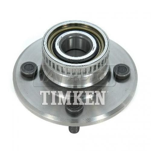 95-96 Dodge, Plymouth Neon (w/ABS & 4 Stud) Rear Wheel Bearing & Hub Assy LR = RR (Timken)