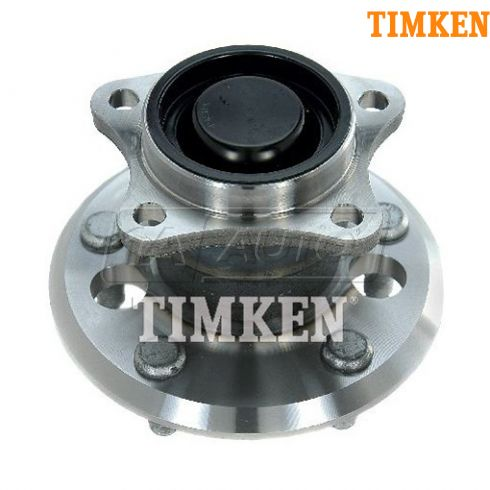 02-05 Toyota Camry (w/o ABS) Rear Wheel Bearing & Hub Assy LR = RR (Timken)