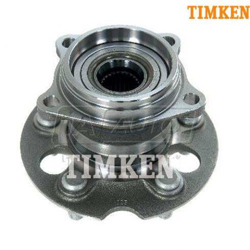04-10 Toyota Sienna w/AWD Rear Wheel Bearing & Hub Assy LR = RR (Timken)