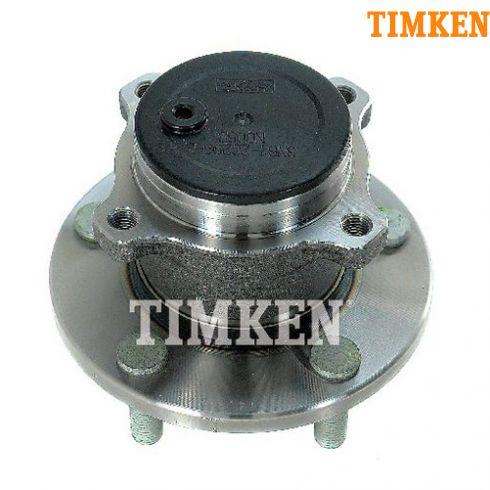 04-08 Mazda 3 (w/o ABS) Rear Wheel Bearing & Hub Assy LR = RR (Timken)