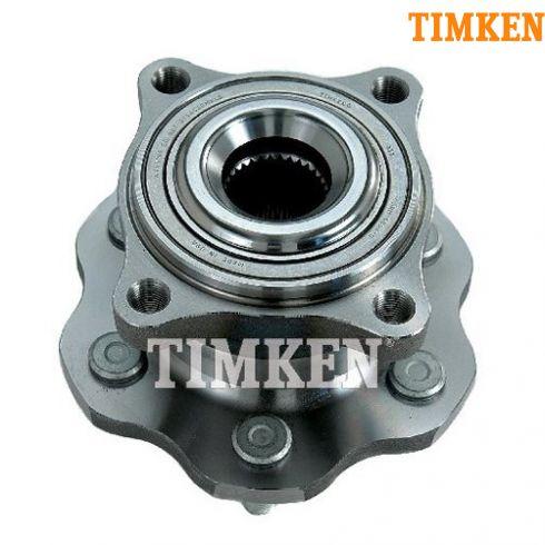 05-12 Nissan Pathfinder Rear Wheel Bearing & Hub Assy LR = RR (Timken)