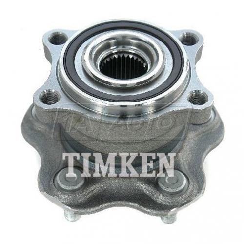 03-07 Nissan Murano AWD Rear Wheel Bearing & Hub Assy LR=RR (Timken)