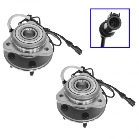95-02 Explorer Front 4x4 Hub Bearing Pair