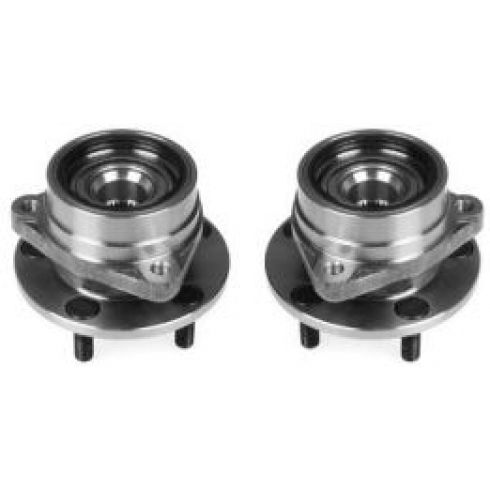 1984-89 Jeep Cherokee Wrangler Front Wheel Hub Bearing Pair