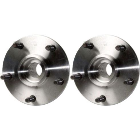 1994-99 Dodge Ram 1500 Pickup Truck Front Hub Bearing Pair 4x4 without ABS 52008220