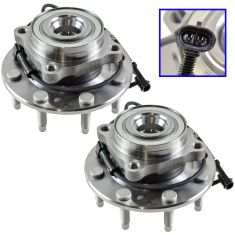1999-06 Chevy Truck Front Hub Bearing Pair HD 4x4