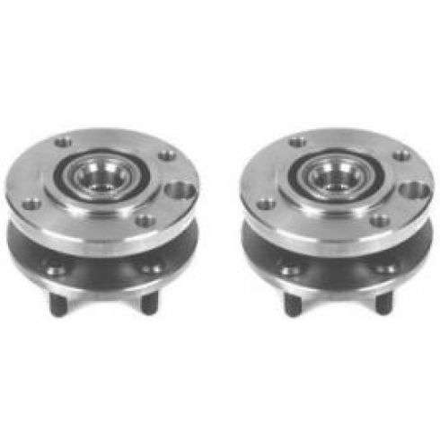 1987-90 Dodge Dakota Front Hub Bearing Pair 4x4