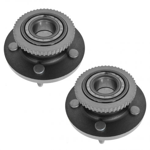 97-02 Ford Crown Vic w/ABS Front Hub & Bearing Pair