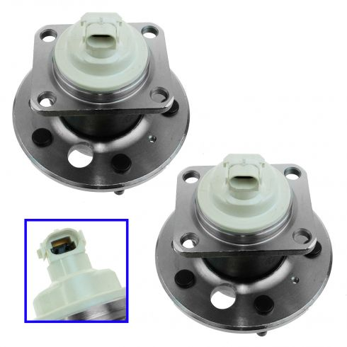 00-05 GM Mid Size FWD w/ABS Rear Hub & Bearing Pair