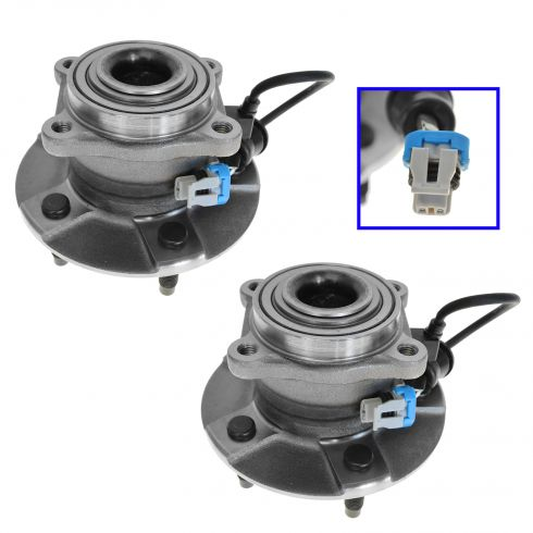 02-07 GM AWD Mini Vans w/ABS Rear Hub & Bearing Pair