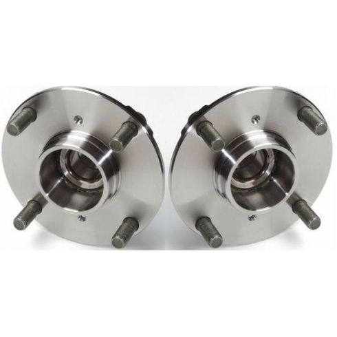 89-94 Suzuki Swift 92-94 Geo Metro Pontiac Firefly Rear Hub & Bearing Pair