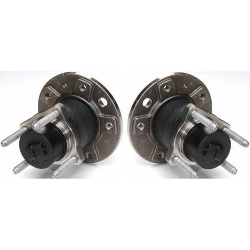 99-08 Saab 9-5 Rear Hub & Bearing Assembly Pair