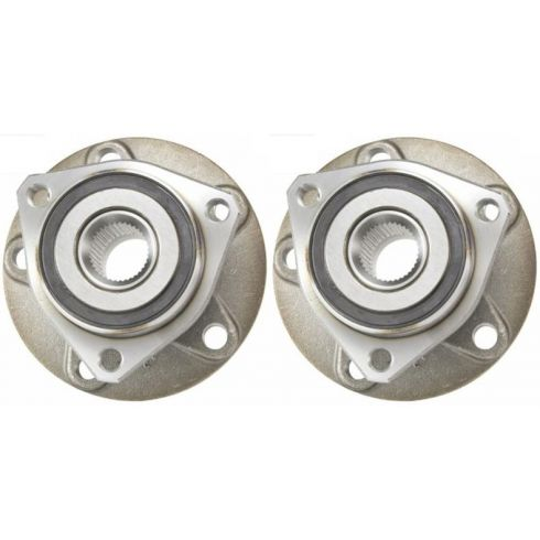 2006-10 VW EOS Golf GTI Rabbit; Audi A3 Wheel Bearing & Hub Assy FRONT PAIR