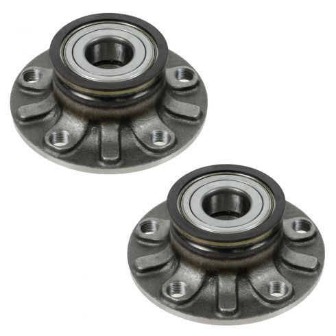 06-11 Audi A3 (Base); VW EOS, Golf, GTI, Rabbit Hub & Bearing REAR PAIR
