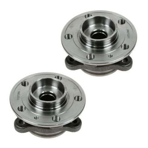 03-11 Volvo XC90 Wheel Bearing & Hub FRONT PAIR