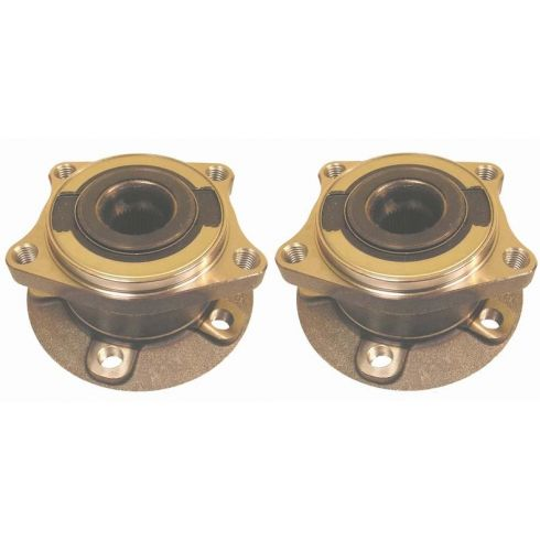 2003-10 Volvo XC90 Wheel Bearing & Hub REAR PAIR