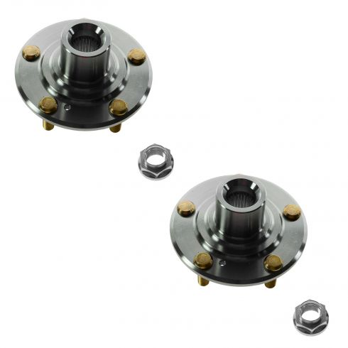 03-07 Honda Accord 06-08 Acura CSX 4 Cyl AT Front Hub PAIR