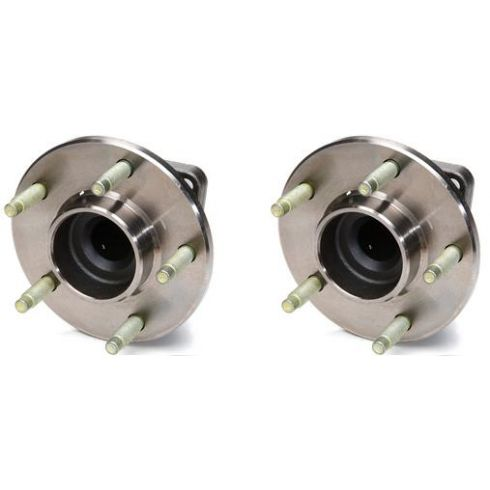 2002-07 Buick Rendezvous FWD w/ ABS Rear Hub & Bearing PAIR