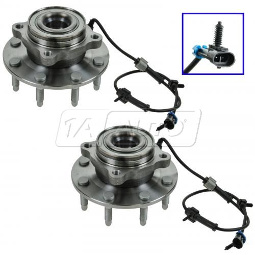 Wheel Bearing & Hub Assembly FRONT PAIR