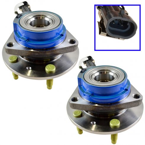 2003-07 Cadillac CTS; 2005-09 Cadillac STS Hub & Wheel Bearing REAR PAIR