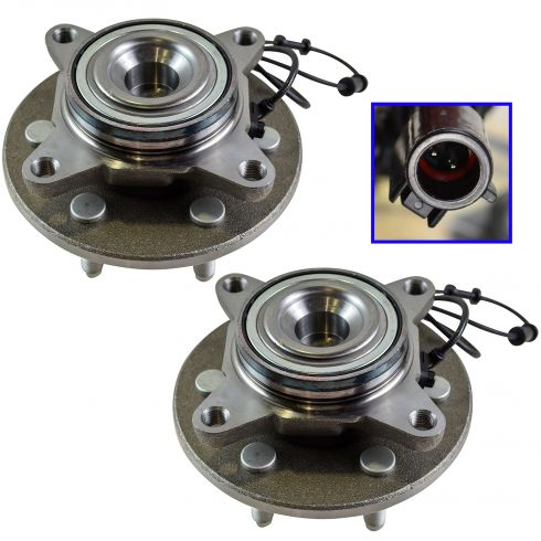 03-06 Ford Expedition, Lincoln Navigator 2WD Front Wheel Bearing & Hub PAIR