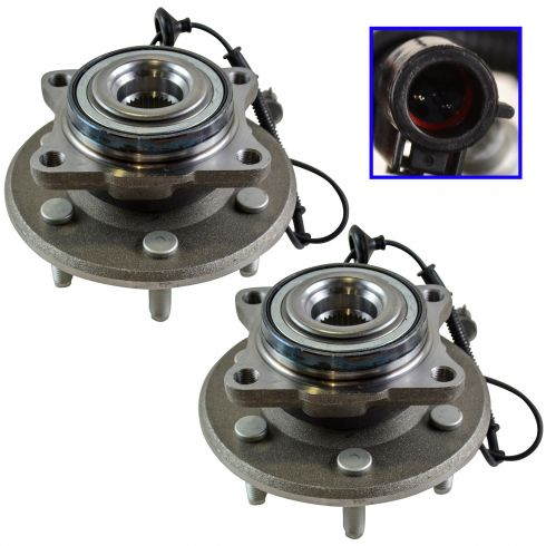 03-06 Ford Expedition, Lincoln Navigator Rear Wheel Bearing & Hub PAIR