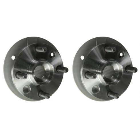 1984-86 Chrysler FWD Front Hub & Bearing 4 Stud PAIR