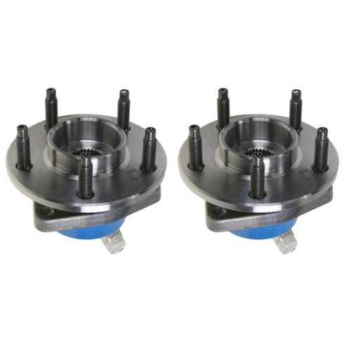 2005-09 Cadillac STS AWD Hub & Wheel Bearing FRONT PAIR