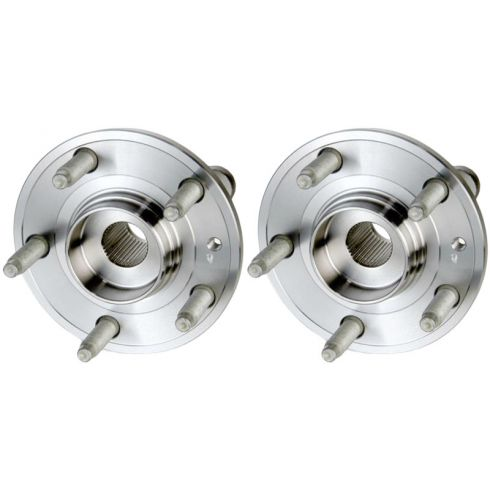2005-07 Ford 500, Freestyle, Montego; 2008-09 Sable, Taurus, X Front Hub Bearing PAIR