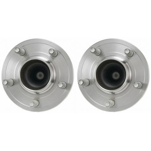 2004-11 Ford Crown Victoria; 2004-10 Towncar, Grand Marquis Front Wheel Bearing & Hub PAIR