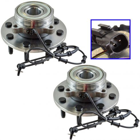 06-08 Dodge Ram PU Multifit Front Wheel Bearing & Hub Assy LF = RF PAIR