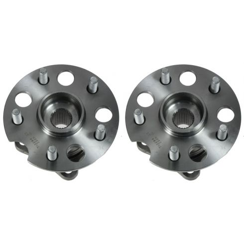 04-10 Highlander; 04-09 Lexus RX Series Rear Wheel Bearing & Hub Assy  PAIR