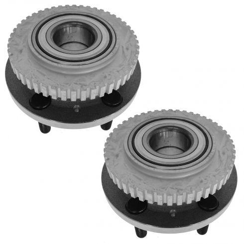95-97 Volvo 960; 97-98 S90, V90 Front Wheel Hub & Bearing LF = RF PAIR