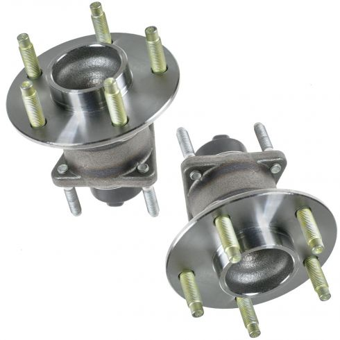 2004-11 GM Mid Size FWD w/5 Lug & ABS Rear Wheel Hub & Bearing PAIR