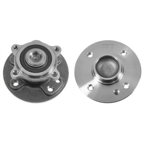 02-10 Mini Cooper Rear Wheel Hub & Bearing LR = RR PAIR