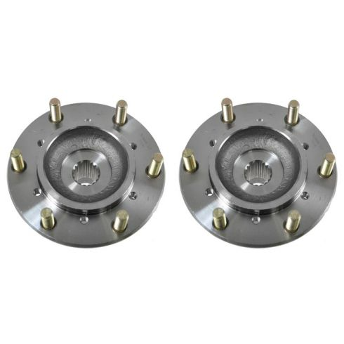 02 Honda Passport; 02(from 11/01)-04 Isuzu Axiom, Rodeo 4WD Front Wheel Hub & Bearing PAIR