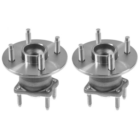 05-10 GM Mid Size FWD 4 Lug Rear Wheel Hub & Bearing w/o ABS LR = RR PAIR
