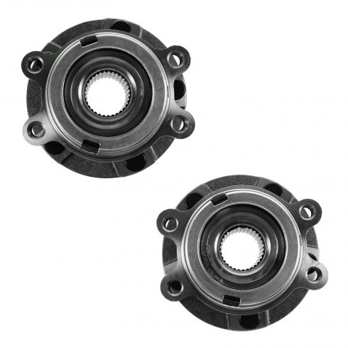 09-11 Nissan Murano; 11 Quest Front Wheel Bearing & Hub Assy PAIR
