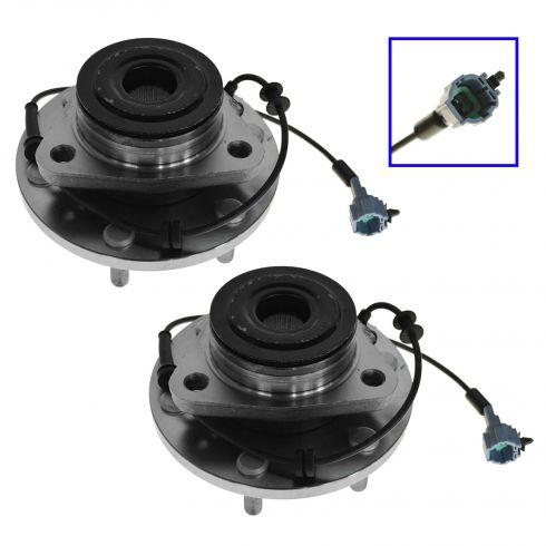 08-10 Infinity QX56, Nissan Armada, 08-11 Titan (2 or 4WD) Front Wheel Bearing & Hub Assy PAIR