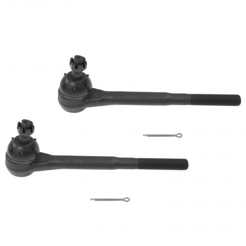 78-95 Buick Chevy GMC Olds Pontiac Multifit 2WD Front Outer Tie Rod End PAIR