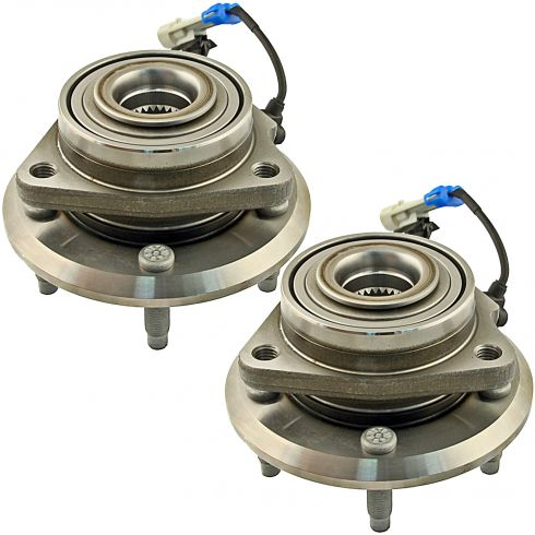 07-11 GM Mid Size SUV Front Wheel Hub & Bearing PAIR