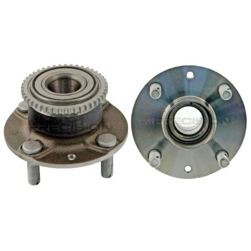 94-03 Escort; 92-96 MX-3; 95-03 Protege; 94-99 Tracer w/ABS Rear Wheel Bearing & Hub Assy PAIR