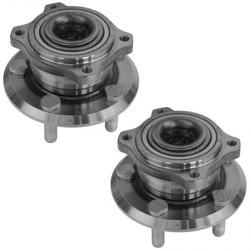 05-10 300; 08-11 Challenger; 06-09 Charger; 05-08 Magnum Rear Wheel Bearng & Hub PAIR