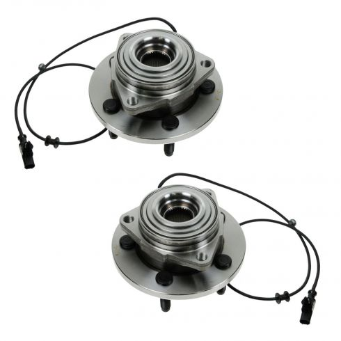 04-05 Dodge Durango Front Wheel Bearing & Hub Assy PAIR