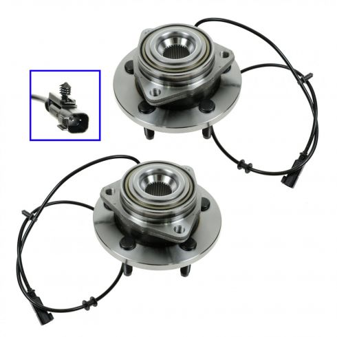 06-09 Dodge Durango; 07-09 Chrysler Aspen Front Wheel Bearing & Hub Assembly PAIR