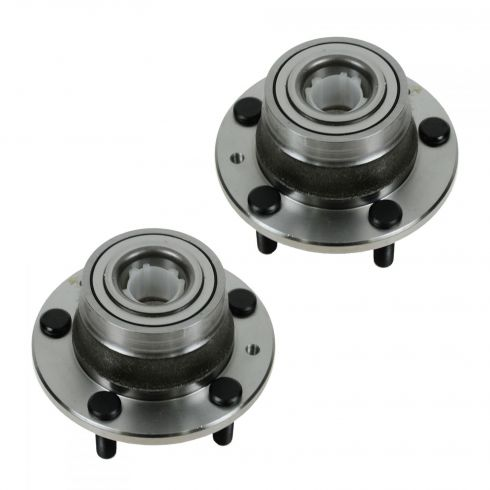 00-03 MPV; 04-06 MPV w/RR Drum; 01-03 Protege w/RR Disc (w/o ABS) Rear Wheel Bearing & Hub Assy PAIR